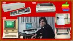 1981 ProFile HD - 1982 Printer DMP - 1983 A//e - Lisa - 410 Color Plotter - Daisy Wheel Printer