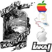 iaka vintage Apple
